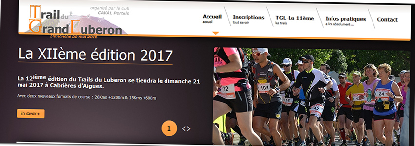 Le Trail du Luberon edit.2017 dans les starting-block